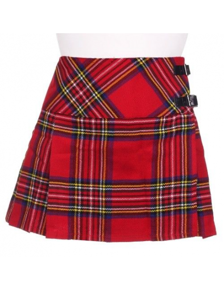 ROYAL STEWART LADIES ACRYLIC WOOL BILLIE KILT