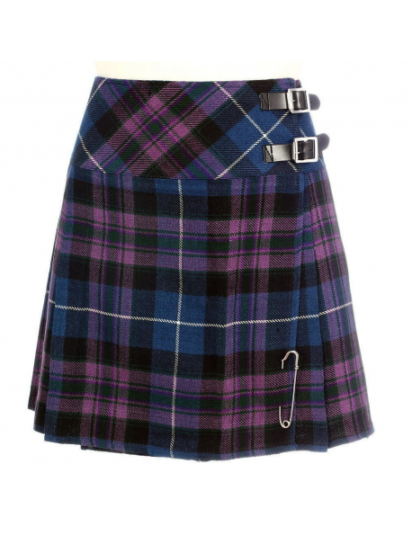 Pride Of Scotland Tartan Ladies Billie Kilt