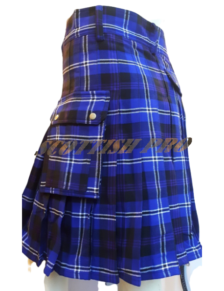 Custom Active Men Modern Utility Heritage of Scotland Acrylic POCKET Kilts