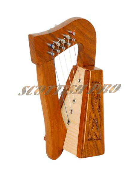 New 5 strings Celtic Irish Harp