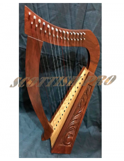 New 15 Strings Harp Mini Harp