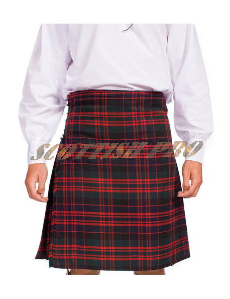 Scottish Active Men Utility Sports Traditional Macdonald Tartan Kilts
