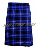New Scottish American Patriot Tartan Leather Strap Utility Kilt
