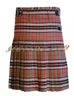 Scottish Men Utility Sports Traditional Thomas Camel Tartan Kilt