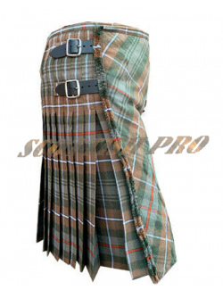 Scottish Active Men Mackenzie Weathered Prime Fashion Kilt