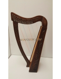New 19 strings Celtic Irish Harp