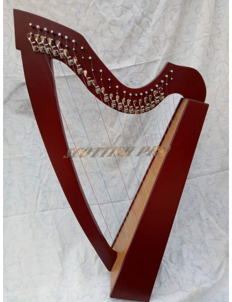 New Lever 22 Lever String Color Harp