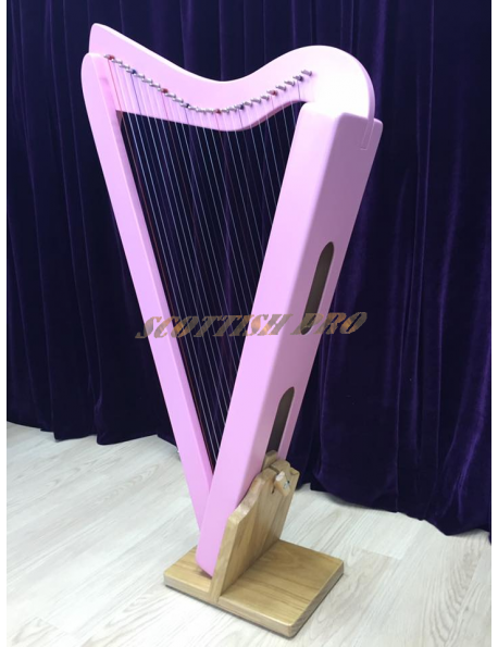 new 26 String Folk Harp Irish Harp Lap Harp With Deluxe Bag and Tunning Key