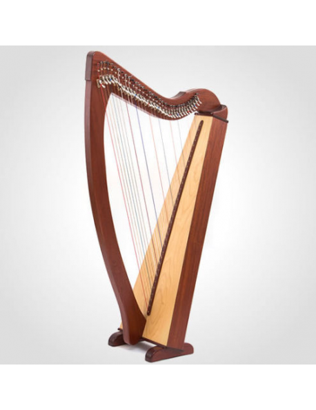 34 String Lever Harp Celtic Harp Folk Harp With Padded Gig Bag and Tunning Key